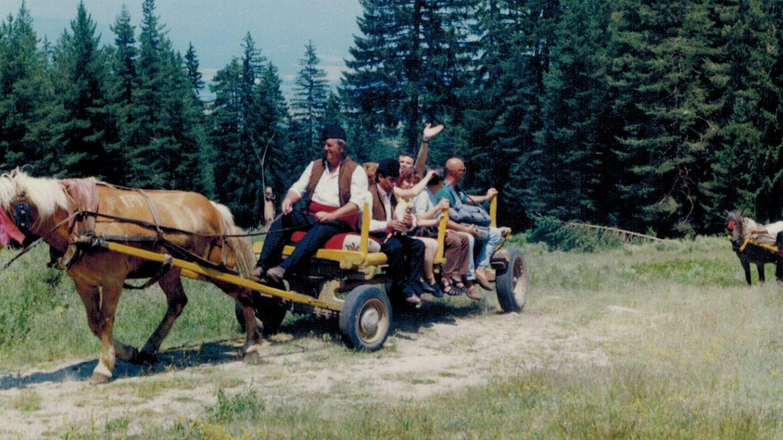 Първи прес-тур в Пиринския край, 1997 г.
