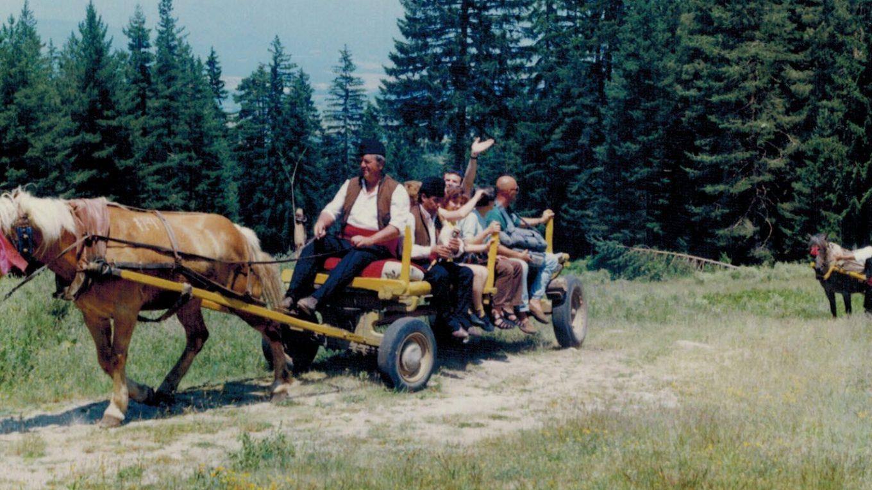 First press-trip in the Pirin Region, 1997