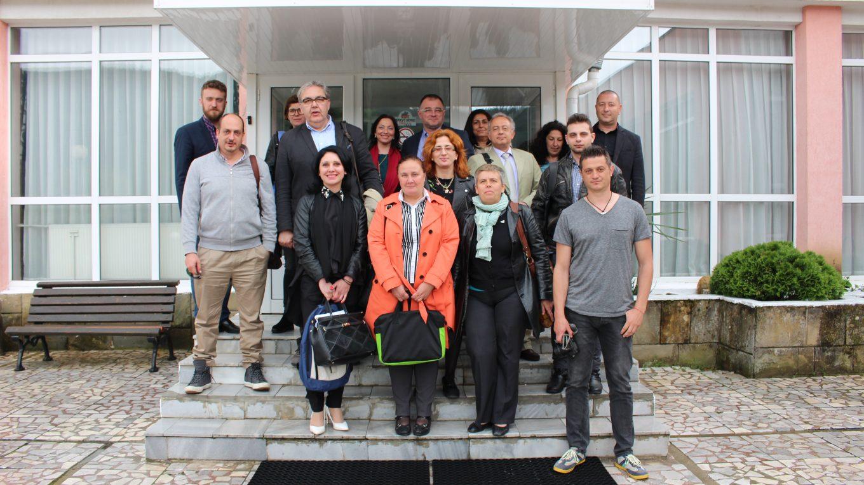 BIO2CARE project meeting in Blagoevgrad, April 2018